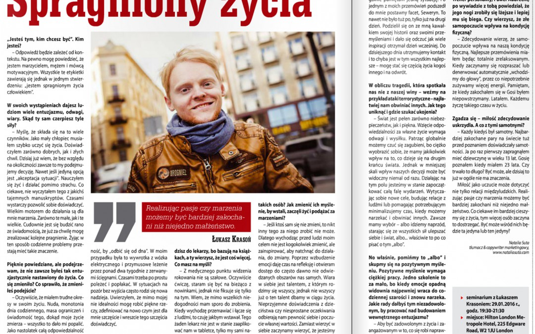 Goniec Polski – wywiad